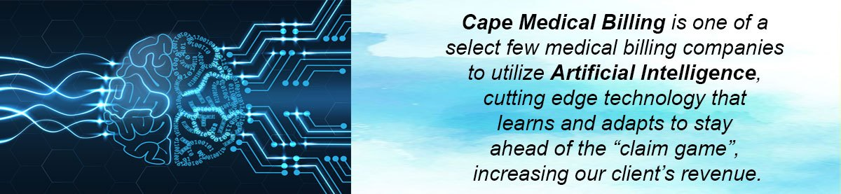 Cape Medical Billing uses Artificial Intelligence